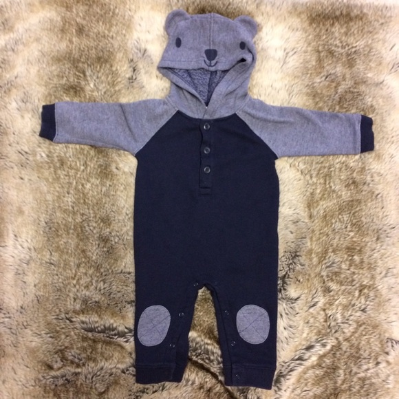 622ecb149ee Gymboree Other - ⭐️Baby Boy Jumpsuit with teddy bear hood.
